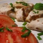 Serowa quesadilla z kurczakiem