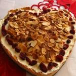 Walentynkowe ciasto