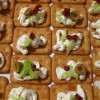 Tzatzikowe krakersy
