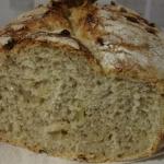 Chleb cebulowy na zakwasie