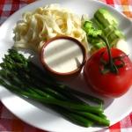Szparagi, cukinia, gorgonzola i pasta gotowa!