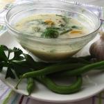 Fasolka szparagowa w lekkiej zupie warzywnej