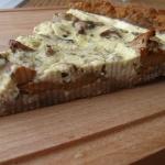 Tarta grzybowa na cieście z parmezanu i orzechów włoskich