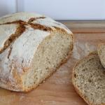 Pszenny chleb z piwem - na zakwasie