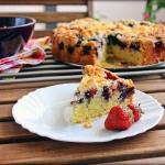 Ciasto ucierane z owocami. I słów kilka o FOMO, YOLO I JOMO;)