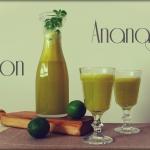 Świeży sok: melon i ananas