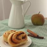 Jabłkowo-cynamonowe ślimaczki