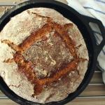 Razowy chleb słonecznikowy - na zakwasie