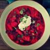 Zupa z botwinki i kopru włoskiego