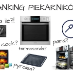 Jak wybrać piekarnik? Ranking najlepszych piekarników do zabudowy.