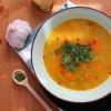Zupa z kopru włoskiego, soczewicy i batata
