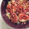 Owsianka z karmelizowanymi figami i wodą różaną