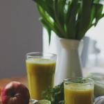 Oczyszczający sok z ogórkiem i koprem włoskim