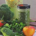 Sok jabłkowy z brokułem i pietruszką