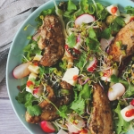 Kurczak w sosie hoisin z tofu i nerkowcami - obiad w 15 minut
