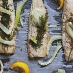 Szybki obiad: pieczona makrela w niskiej temperaturze