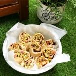 Rabarbarowe drożdżówki z pistacjami