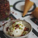 Mroźny weekend: obłędne libańskie lody pistacjowe z wodą z kwiatów pomarańczy