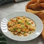 Zupa kalafiorowa z kukurydzą