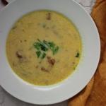 Zupa kurkowa i o tym jak zagęścić zupę bez mąki