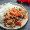 Kurczak z marchewkami w sosie z suszonych pomidorów