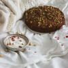 Ciasto na Walentynki: pistacjowe z wodą różaną