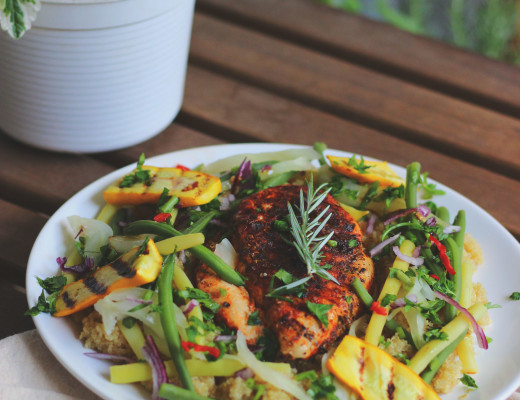 quinoa z kurczakiem