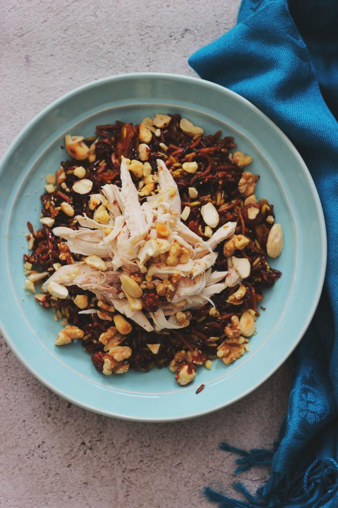 Ryż Z Kurczakiem I Orzechami Po Libańsku Kucharenkapl