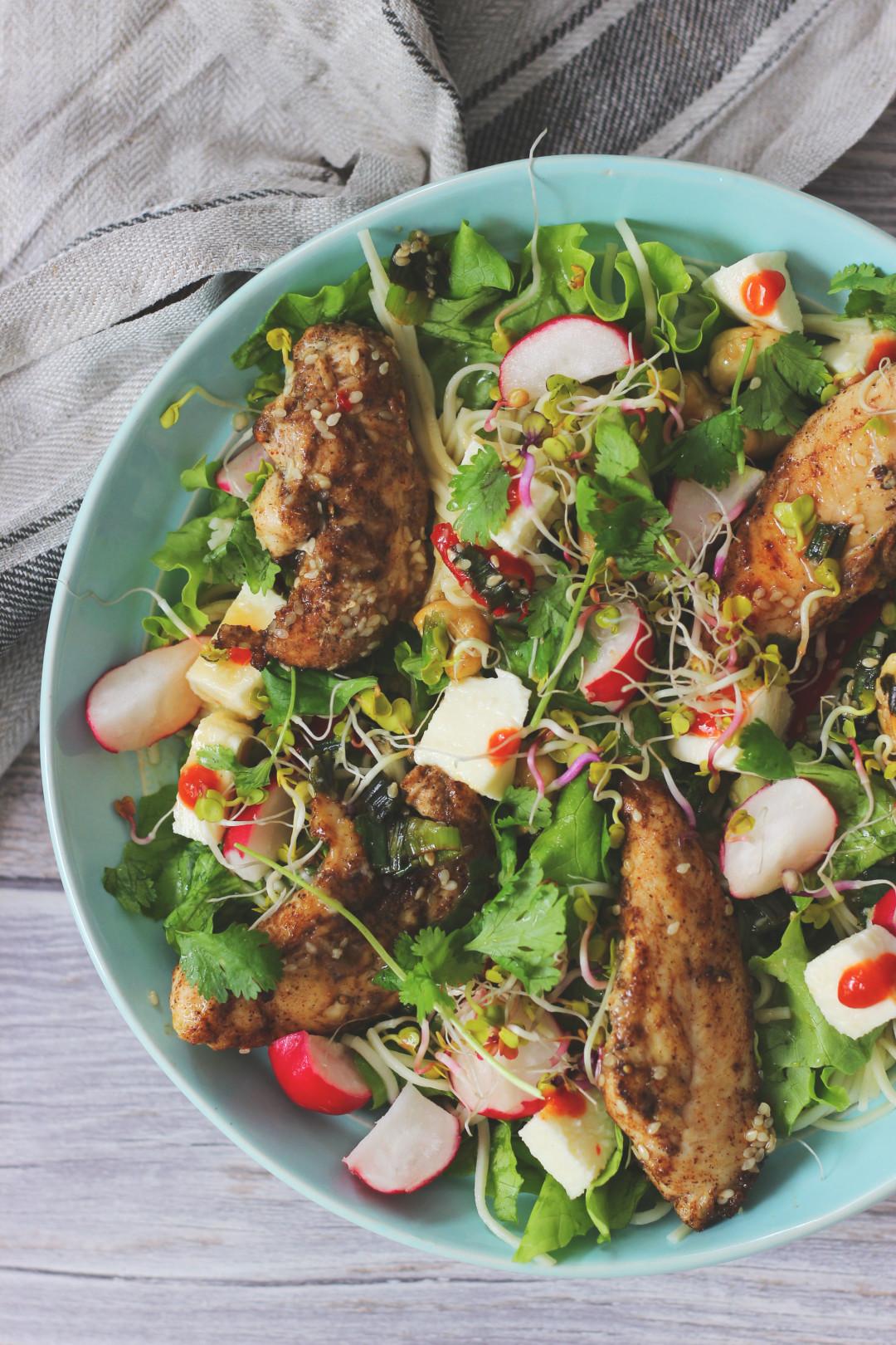 kurczak w sosie hoisin Jamie Oliver